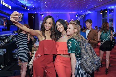 Sal Stowers, Camila Banus, Marci Miller Sal Stowers, Camila Banus and Marci Miller attend The Television Academy's 2017 Daytime Television Peer Group Celebration at the Saban Media Center, in North Hollywood, Calif