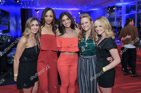 Lucy Yalenian, Sal Stowers, Camila Banus, Marci Miller, Evanne Drucker Lucy Yalenian, Sal Stowers, Camila Banus, Marci Miller and Evanne Drucker attend The Television Academy's 2017 Daytime Television Peer Group Celebration at the Saban Media Center, in North Hollywood, Calif