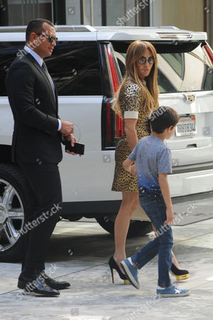 Editorial photo of Jennifer Lopez and Alex Rodriguez out and about, New York, USA - 01 Sep 2017