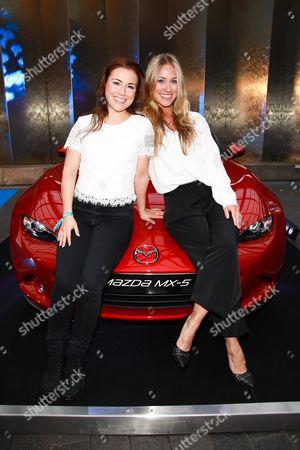 Sarah Tkotsch mit Schwester Sina