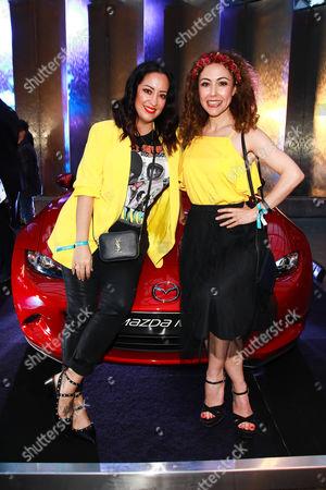 Miyabi Kawai and Anastasia Zampounidis