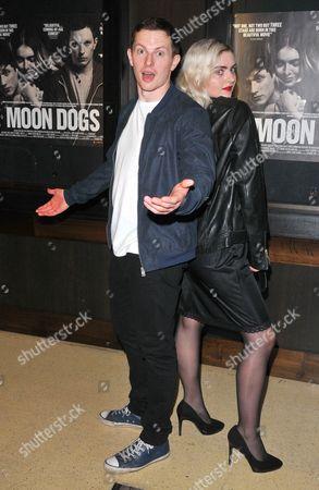 Jack Parry-Jones and Tara Lee