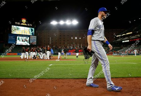 Editorial image of Blue Jays Orioles Baseball, Baltimore, USA - 01 Sep 2017