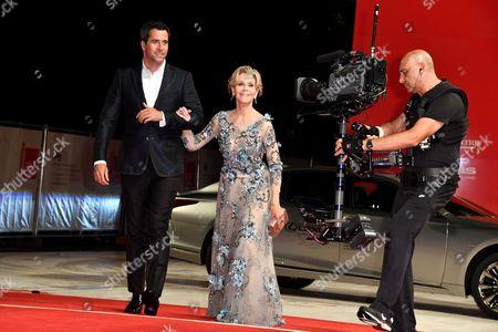Jane Fonda with her son Troy Garity