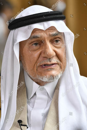 Stock Photo of Prince Turki Bin Faisal Al Saud