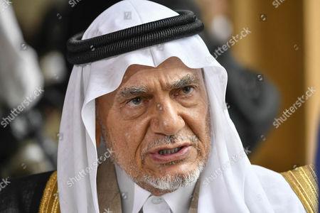 Stock Picture of Prince Turki Bin Faisal Al Saud