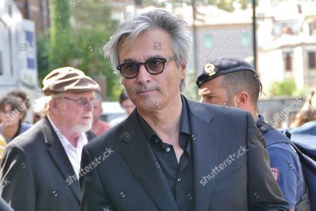 Editorial photo of 74th Venice Film Festival: Arrivals at the Lido, Venice, Italy - 01 Sep 2017