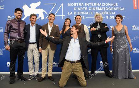 Editorial image of La vita in comune - photocall - Venice Film Festival 2017, Italy - 02 Sep 2017
