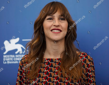 """Actress Sarah Adler poses during the photo call for the film """"Foxtrot"""" at the 74th Venice Film Festival in Venice, Italy"""