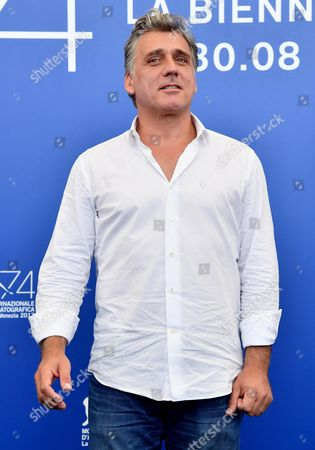 Israeli actor Lior Ashkenazi poses during a photocall for 'Foxtrot' at the 74th annual Venice International Film Festival, in Venice, Italy, 02 September 2017. The movie is presented in the official competition 'Venezia 74' at the festival running from 30 August to 09 September.