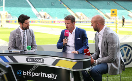 BT sport rugby panel with Craig Doyle, Austin Healey & Ben Kay