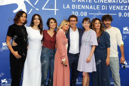 Editorial photo of 'Diva!' photocall, 74th Venice International Film Festival, Italy - 02 Sep 2017