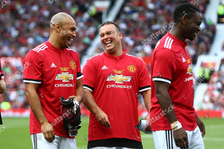 Editorial picture of Manchester United Legends v Barcelona Legends, Charity Friendly, Old Trafford, Manchester, Greater Manchester, UK - 02 September 2017