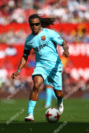Edgar Davids of Barcelona