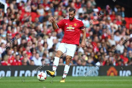 Ruud van Nistelrooy of Manchester United