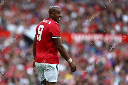 Dion Dublin of Manchester United