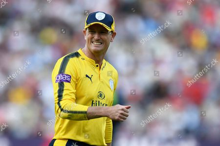 George Bailey of Hampshire during the NatWest T20 Finals Day 2017 semi final match between Hampshire County Cricket Club and Notts Outlaws at Edgbaston, Birmingham
