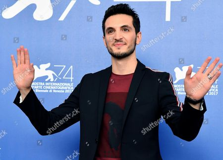 Italian actor Giacomo Ferrara poses during a photocall for 'Suburra la serie' at the 74th annual Venice International Film Festival, in Venice, Italy, 02 September 2017. The festival runs from 30 August to 09 September.