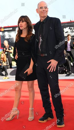 Israeli movie director Samuel Maoz (R) and French and Israeli actress Sarah Adler (L) arrive for the premier of 'Foxtrot' at the 74th annual Venice International Film Festival, in Venice, Italy, 02 September 2017. The movie is presented in the official competition 'Venezia 74' at the festival running from 30 August to 09 September.