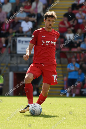David Mooney, Captain of Leyton Orient during the Vanarama Conference National League match between Leyton Orient and Guiseley AFC at The Matchroom Stadium, Leyton, London on September 2.