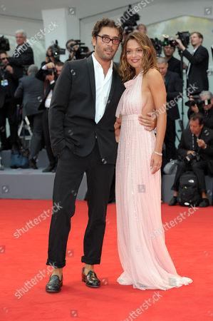Lorenzo Serafini and Valeria Bilello