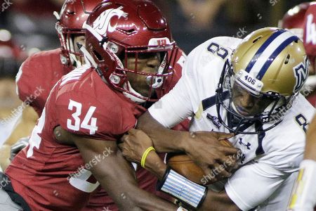 Editorial image of Montana St Washington St Football, Pullman, USA - 02 Sep 2017