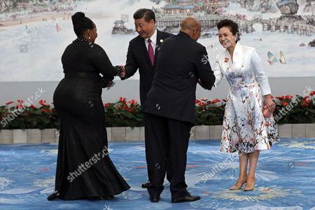 Editorial picture of 2017 Brics summit in China, Xiamen - 03 Sep 2017