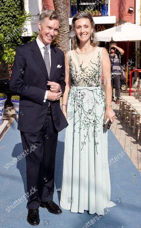 Hereditary Grand Duke Guillaume of Luxembourg and Princess Sibilla of Luxembourg of Luxemburg