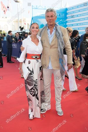 Stock Picture of Dominique Desseigne and Alexandra Cardinale