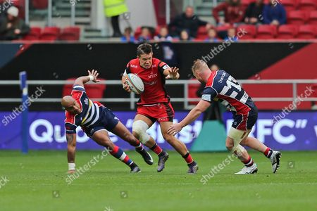 Editorial picture of Bristol Rugby v Hartpury, Green King IPA Championship - 03 Sep 2017