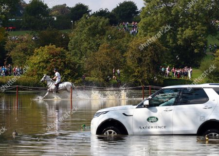 Harry Meade on Away Cruising at the Land Rover Burghley Horse Trials