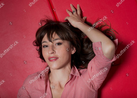 """Stock Photo of Actress Sarah Adler poses for portraits for the film """"Foxtrot"""" at the 74th Venice Film Festival in Venice, Italy"""