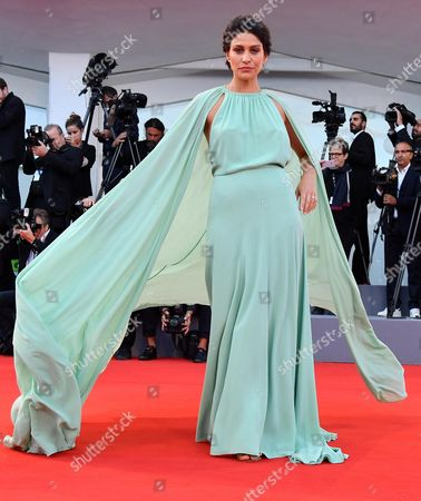 Italian actress Giulia Bevilacqua arrives for the premiere of 'The Leisure Seeker' at the 74th Venice Film Festival in Venice, Italy, 03 September 2017. The festival runs from 30 August to 09 September.