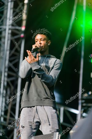 Shayaa Bin Abraham-Joseph, 21 Savage 21 Savage performs at The Budweiser Made In America Festival, in Philadelphia