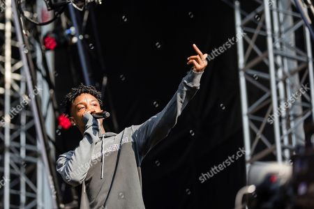 Shayaa Bin Abraham-Joseph, 21 Savage Savage performs at The Budweiser Made In America Festival, in Philadelphia