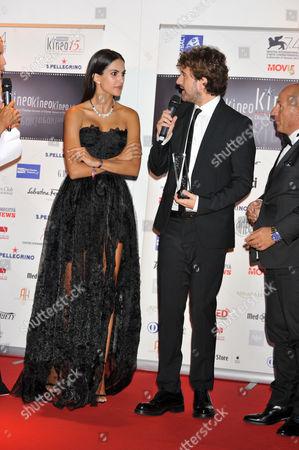 Rocio Munoz Morales, Alessandro Siani