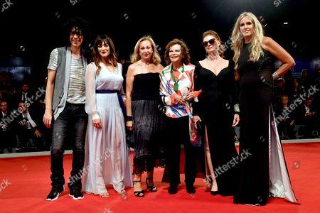 Stock Picture of Giovanni Allevi, Armand Assante, Valentina Lodovini, Claudia Cardinale, Susan Sarandon, Tiziana Rocca