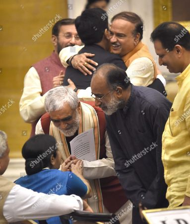 Editorial image of Cabinet reshuffle, New Delhi, India - 03 Sep 2017