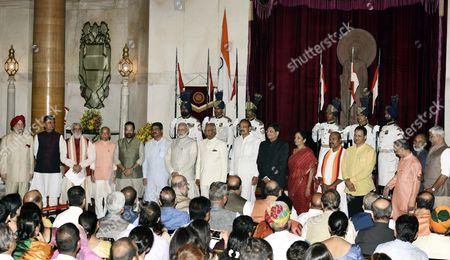 Editorial photo of Cabinet reshuffle, New Delhi, India - 03 Sep 2017