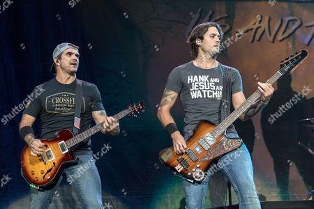 3 Doors Down - Chris Henderson and Justin Biltonen