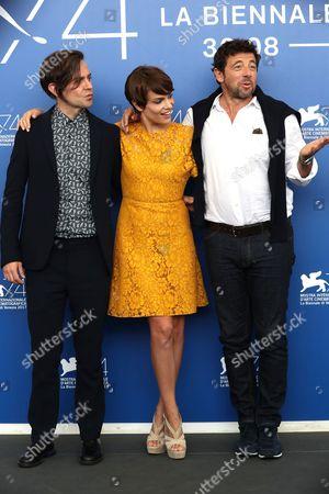 Sebastiano Riso, Micaela Ramazzotti and Patrick Bruel