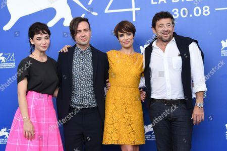 Sebastiano Riso, Micaela Ramazzotti, Patrick Bruel, Matilda De Angelis,