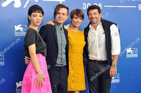 Matilda De Angelis, Sebastiano Riso, Micaela Ramazzotti, Patrick Bruel