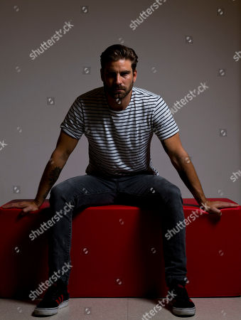 """Actor Kevin Janssens poses for portraits for the film """"Above The Law"""" at the 74th Venice Film Festival in Venice, Italy"""