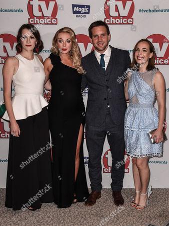 Charlotte Ritchie, Jack Ashton, Helen George and Laura Main