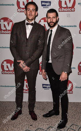 Editorial image of The TV Choice Awards, Arrivals, The Dorchester, London, UK - 04 Sep 2017