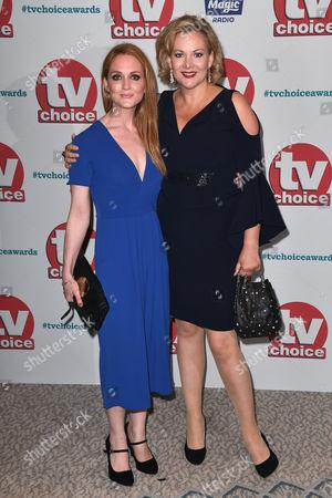 Olivia Hallinan and Sara Stewart