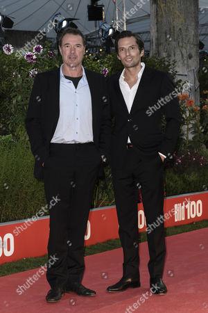 Sebastian Koch and Quirin Berg