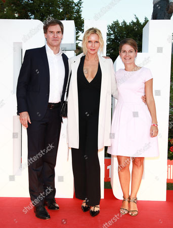 Veronica Ferres mit Carsten Maschmeyer and Tanit Koch