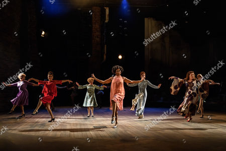 Janie Dee (Phyllis Rogers Stone), Imelda Staunton (Sally Durant Plummer), Norma Atallah (Emily Whitman), Dawn Hope (Stella Deems), Tracie Bennett (Carlotta Campion), Liz Izen (DeeDee West), Julie Armstrong (Christine Donovan).